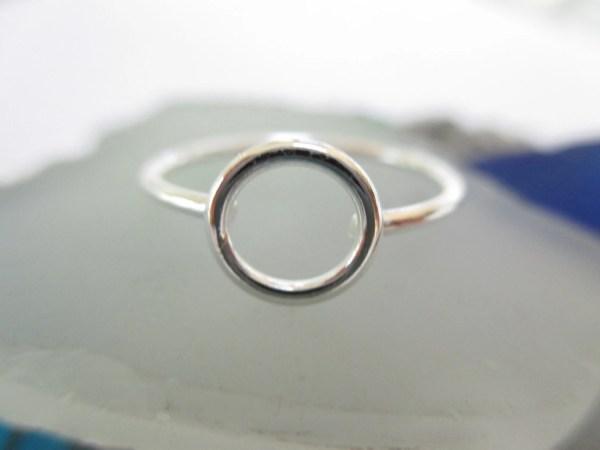 Karma Ring Circle Sterling Silver