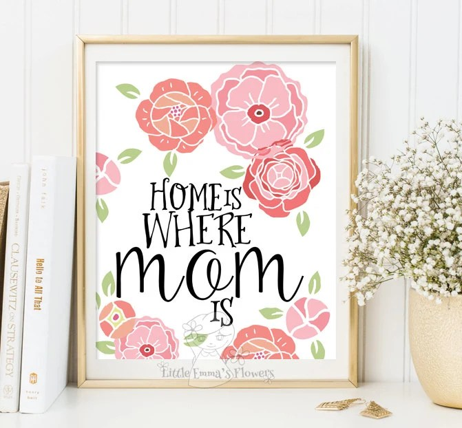Home Is Where Mom Is Etsy