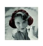 vintage crochet pattern-40s hair