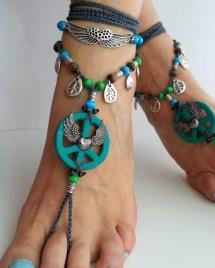 Hippie Barefoot Sandals Boho