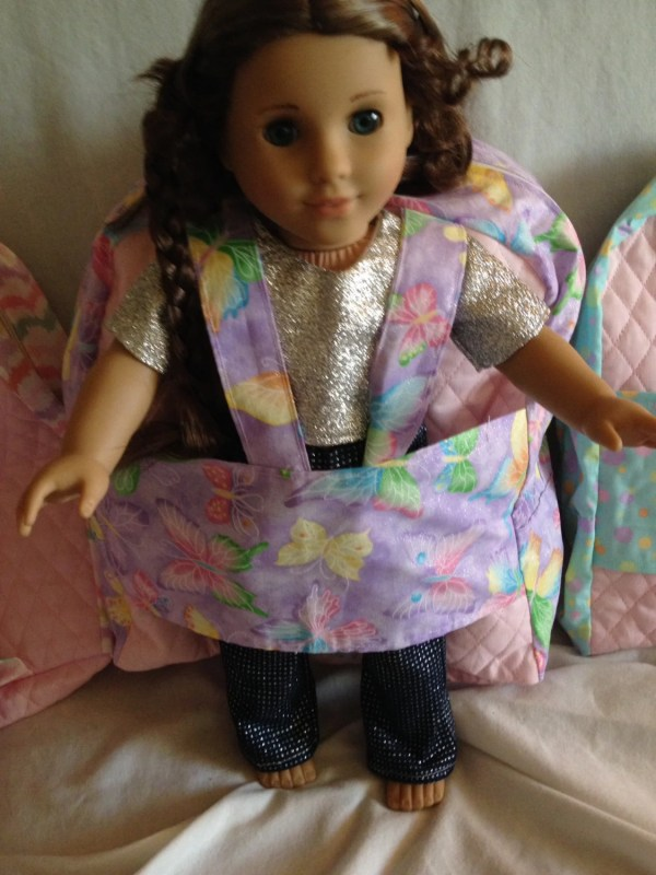 American Doll Carrier Backpack 18 Sewmyday