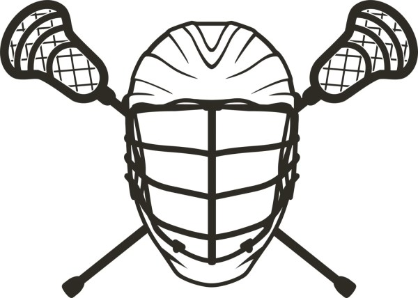 Items similar to Lacrosse LAX Sports Helmet Sticks