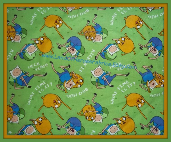 Adventure Time Fabric Springs Creative Products