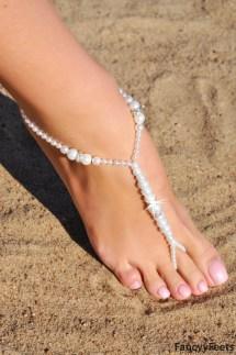 Beaded Barefoot Sandals
