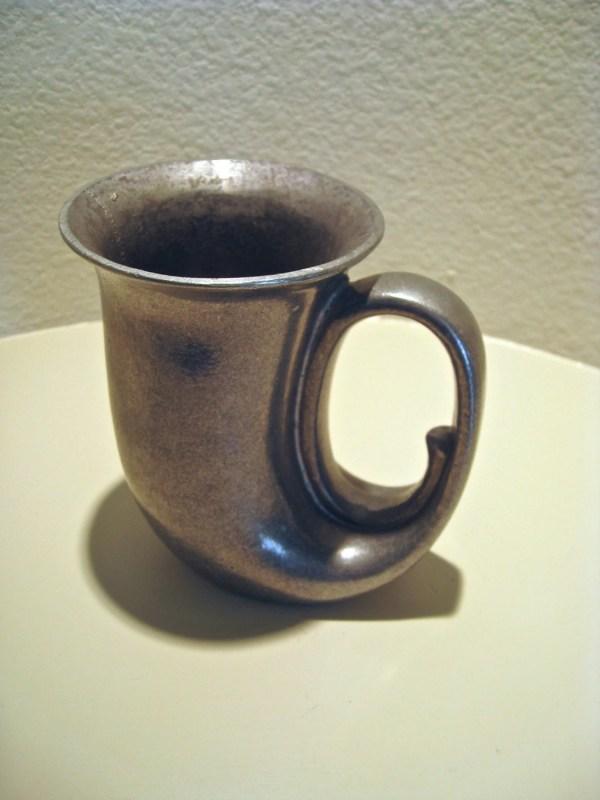 Vintage Wilton Armetale Horned Goblet -toxic