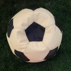 Football Bean Bag Chair Fold Up Childrens Decor Soccer Ball By