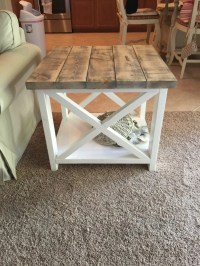 wooden coffee table plans free | Quick Woodworking Projects