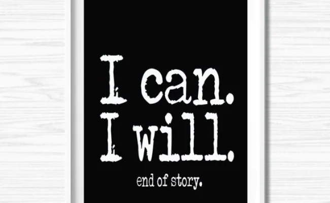 Motivational Wall Canvas Inspiration Quote Office Wall Decor