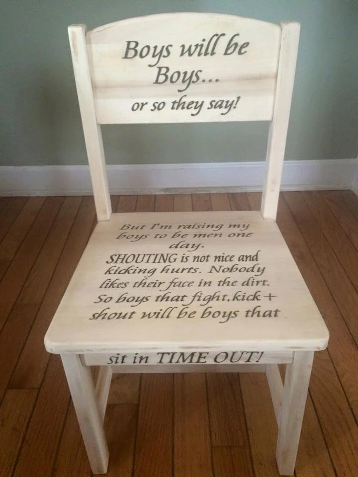Kids Wood Chair