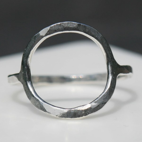 Circle Karma Ring Fine Silver Eternity