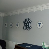 Yankee Stadium Stencil, wall decor, Baseball Stencil, Baby ...