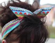 aztec hair pin