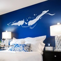 Freestyle Swimmer Wall Decal Swimmer Sticker Swimmer Decal