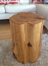 Wood Stump Side Tables End Tables Coffee Tables Reclaimed