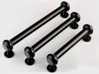 Black Kitchen Cabinet Handle Drawer Pull Handles Dresser Pulls