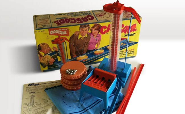 1972 Matchbox Cascade Game Number 520001 Battery Operated