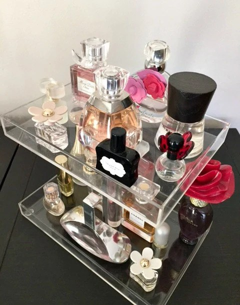 Bella Petite 2 Tier Perfume Storage Holder