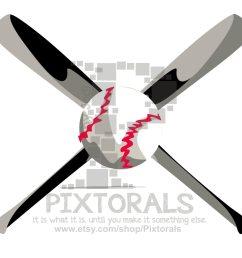 baseball softball bat ball clipart png transparent [ 1500 x 1390 Pixel ]