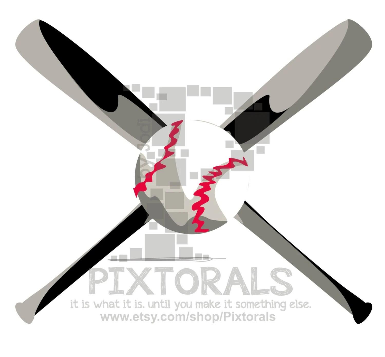hight resolution of baseball softball bat ball clipart png transparent