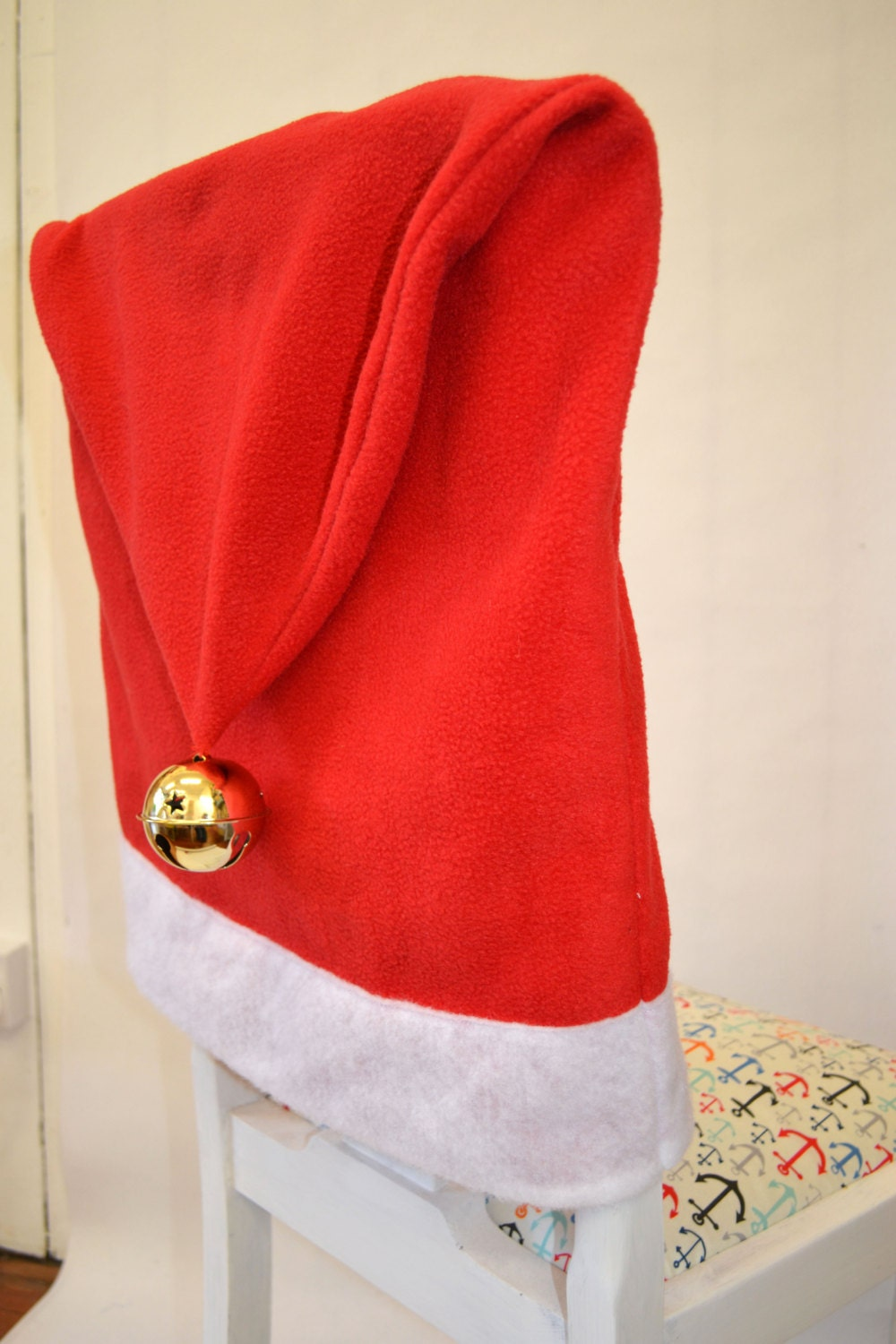 Santa hat chair cover SEWING PATTERN