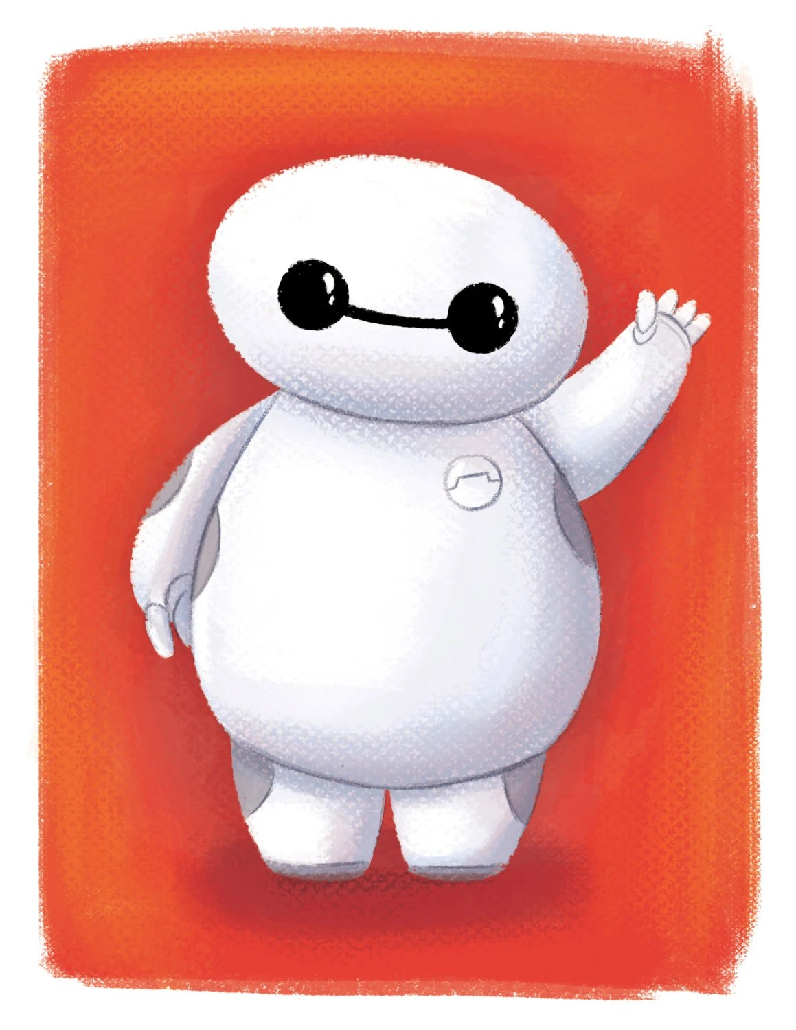 Baymax Big Hero 6 Mini Baymax Fan Art Room Decor By Artbygladys