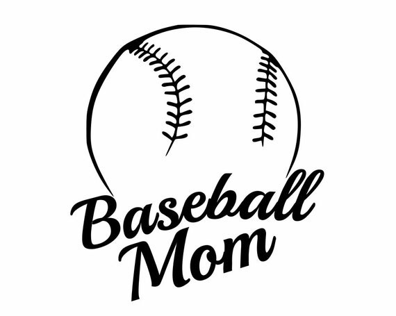 Sports Decals Baseball Mom Show support for your team