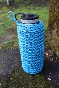 Hydro Flask 40oz 550 Cord Paracord Cozy Water Bottle Holder