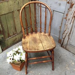Antique Windsor Chairs Lacquer Dining Chair Rustic Vintage Wooden