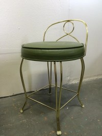 Mid Century Modern Vintage Vanity Chair Stool by ...