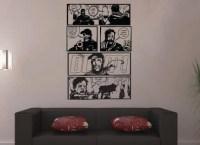 Huge The Walking Dead Wall Comic Strip Wall Art by ...