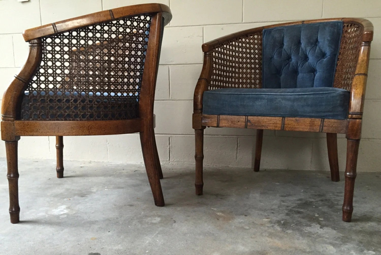 bamboo cane back chairs target children s vintage  hollywood regency faux club