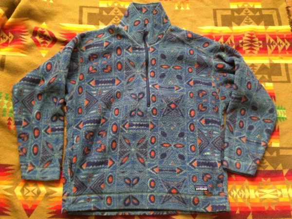 Vintage Patagonia Pattern Pullover Fleece Roterra90