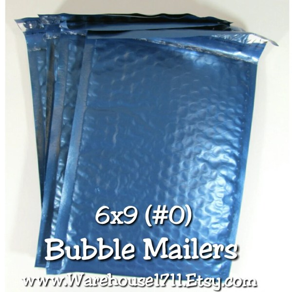 Blue Poly Bubble Mailers Size 6x9 0 Packing Warehouse1711