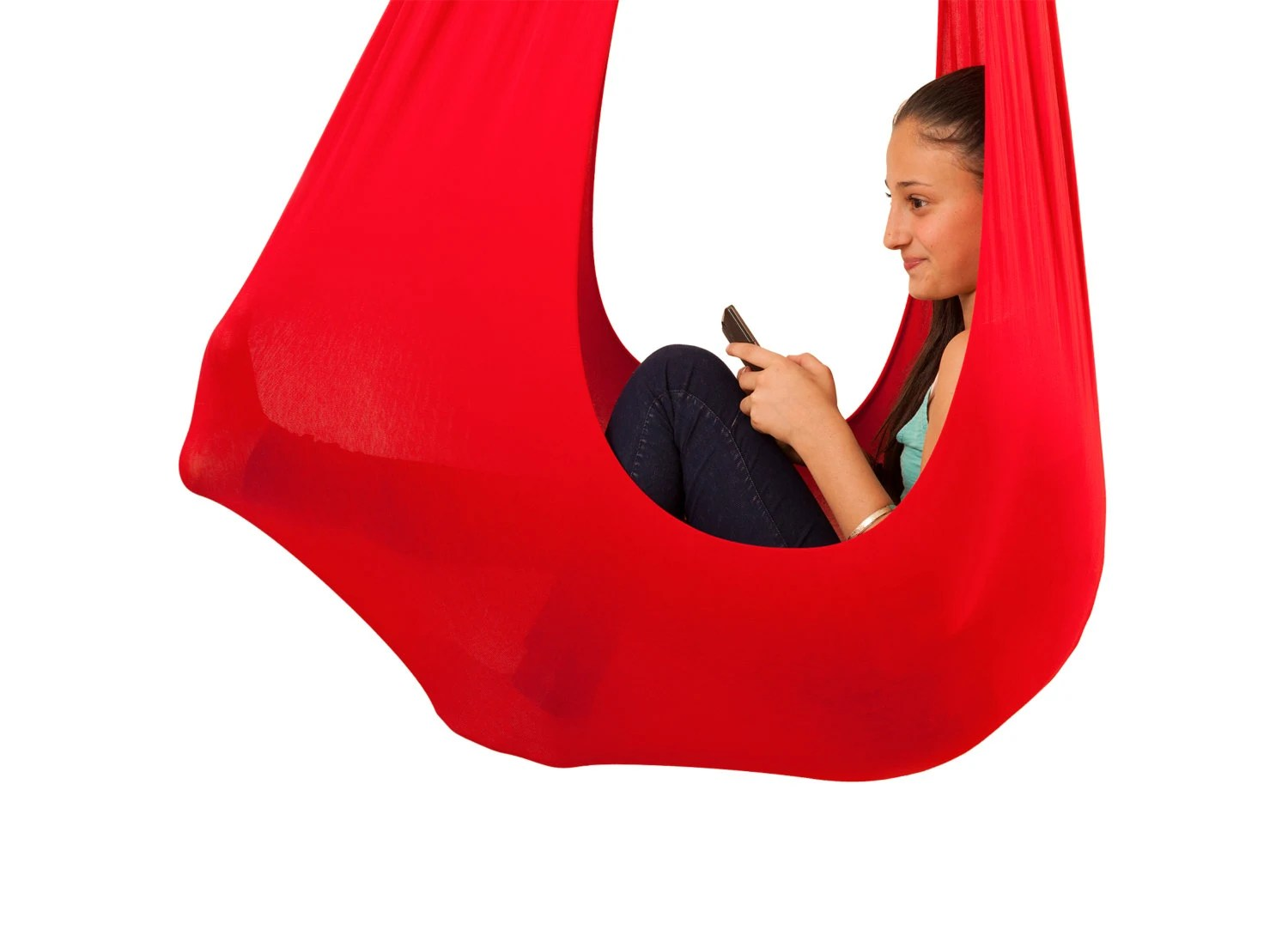 chair for autistic child yoga sensory toy autism hammock swing indoor kids by inyard
