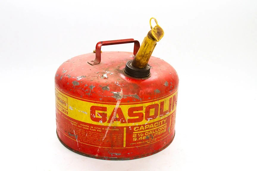 Vintage Craftsman Sears Gas Can Old Gas Can By Lloydstreasures