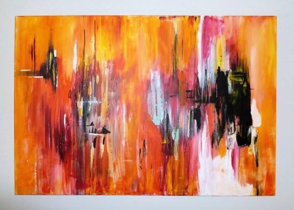 Contemporary Art Modern Painting Original Abstract Canvas