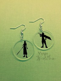 Cloud and Aerith EarringsDangle Earring Cloud by ...
