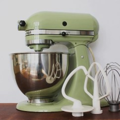 Kitchen Aid Standing Mixer Outdoor Designs Vintage Avocado Green Kitchenaid With Bowl And