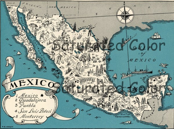 20 Original Mexico Map Pictures And Ideas On Meta Networks