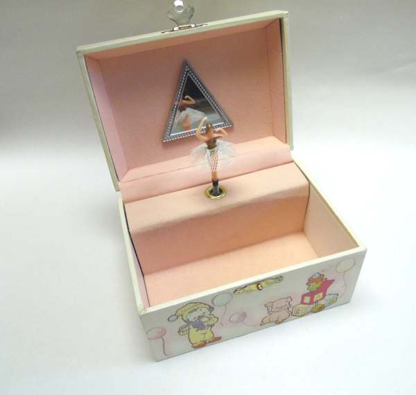 Spinning Ballerina Jewelry Box