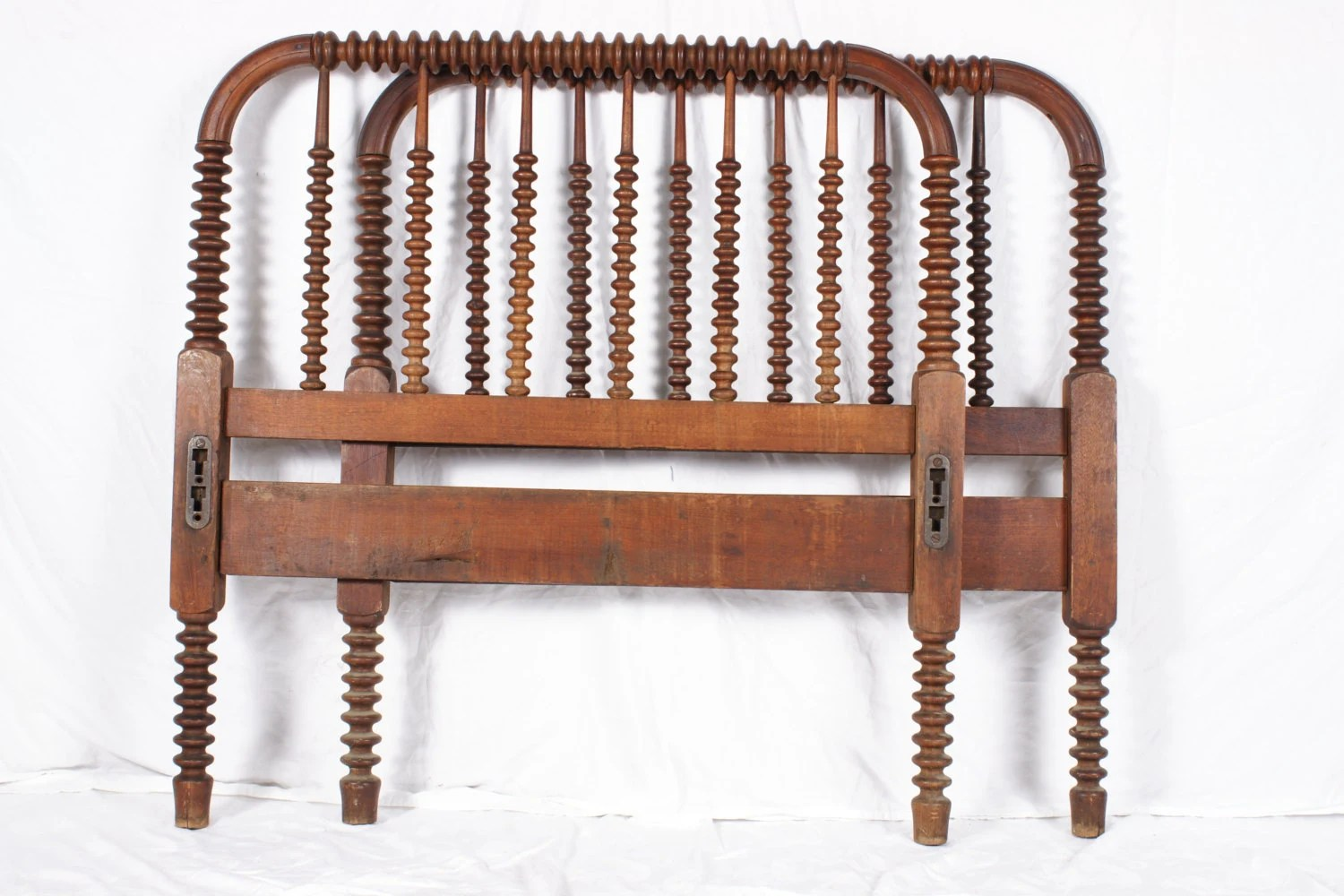jenny lind rocking chair white wooden childrens antique twin size spool bed headboard footboard