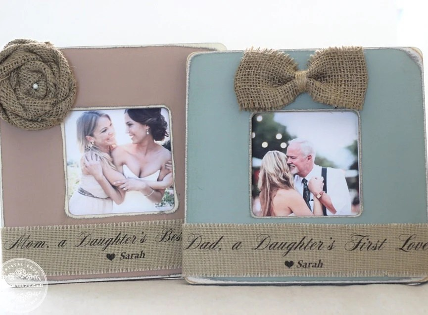 Thank You Gifts For Parents Wedding Gift Personalized Picture