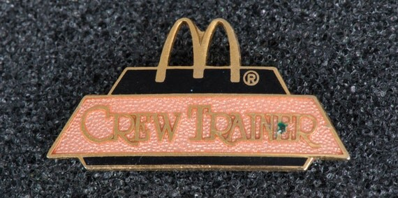 Mcdonald's Crew Trainer Collectible Tack Pin