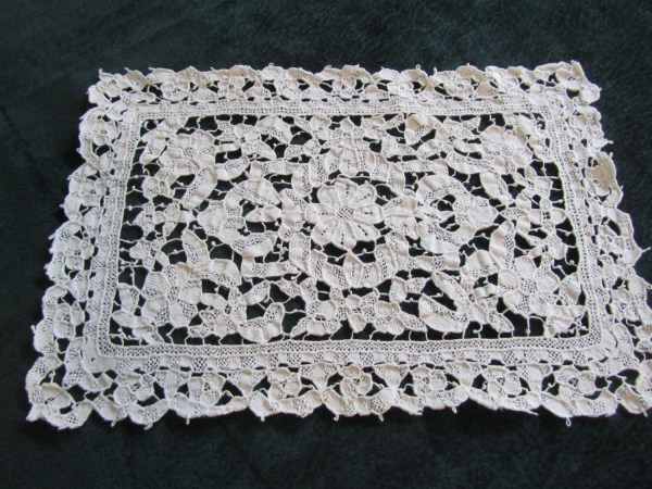 Antique Lace Placemats Handworked Needle Gorgeous