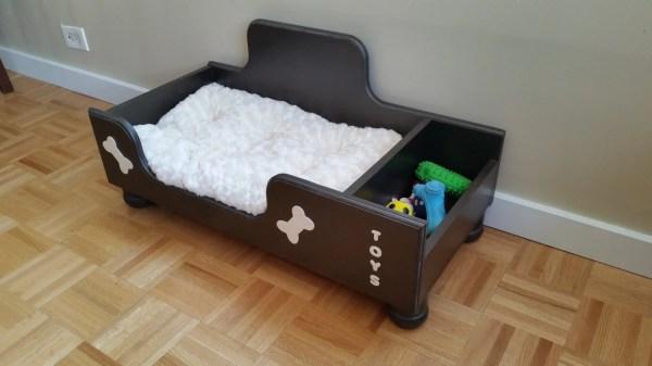 Handmade Cozy Dog Bed Wooden Furniture Pet