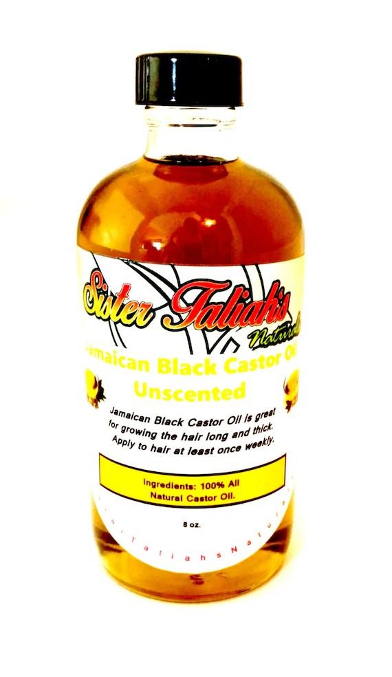 8 oz, Jamaican Mango & Lime Black Original Castor Oil, The BEST Jamaican Black Castor Oil infused 100% all ...