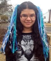 shorter mermaid yarn hair extensions