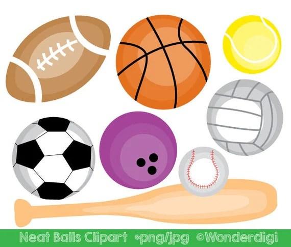sports clipart sport balls clip