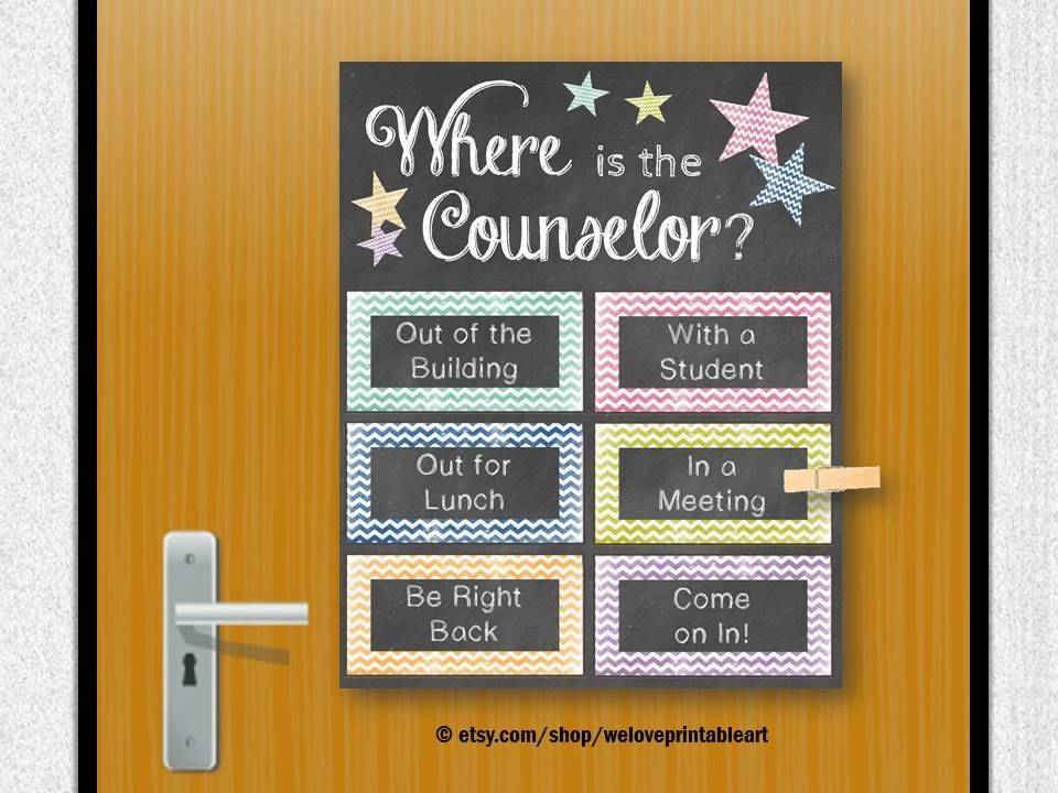 School Counselor Gifts Guidance Counselor by