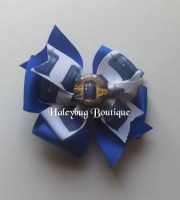 police box hair bow 4